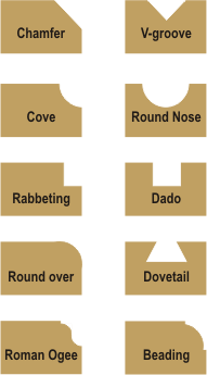 router bits wood